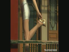 丽柜美_腿模特视频 LG6-25-09-1