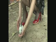 丽柜美腿模特视频 LG6-25-01-1