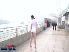 [AISS爱丝]索菲码头穿行》套图视频-as42