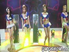 [动感小站热舞系列]2016 ChinaJoy 韩国女团BAMBINO热舞