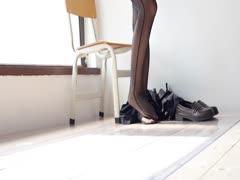 [森萝财团]萝莉丝足写真 WTMSB-003 黑丝连体袜