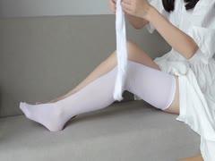 [森萝财团]萝莉丝足写真 JKFUN-014