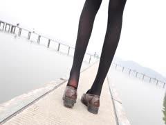 [森萝财团]萝莉丝足写真 JKFUN-006 Aika 日系黑丝