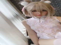 Cosplay一小央泽 - 家养小动物 video (8)