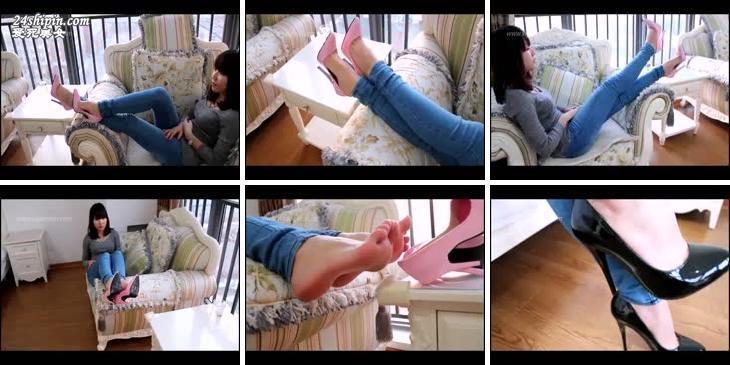 [细高跟]高跟鞋视频MVI_589