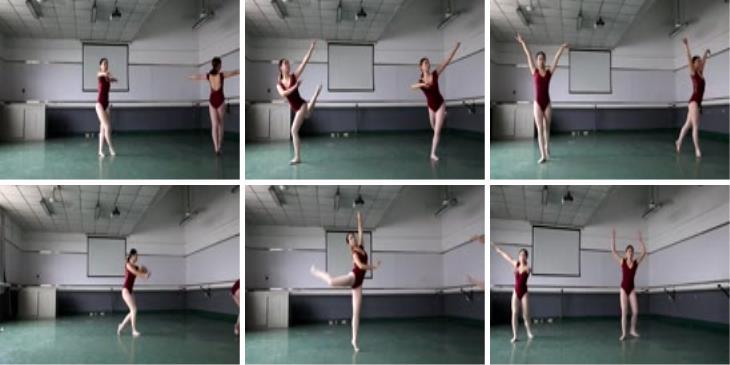大西瓜美女图片2 W019 舞蹈家9-双红衣少女590p