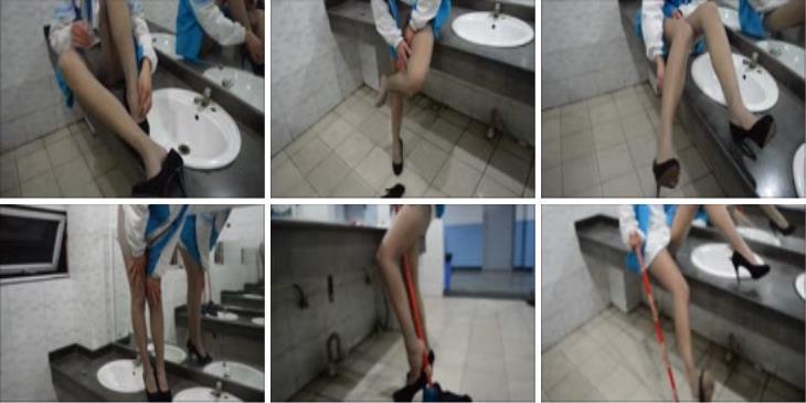 纳丝摄影 NO008 莉莉洗手间