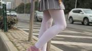 [森萝财团]萝莉丝足写真 X-009 粉嫩粉嫩的丝秀