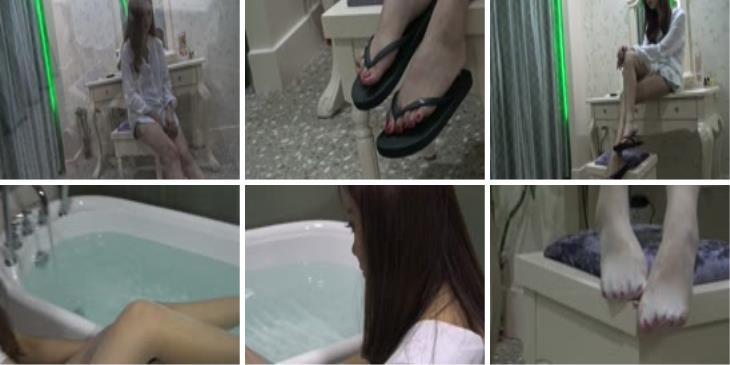 唐韵视频 VX0019 佳佳鞋丝足合辑
